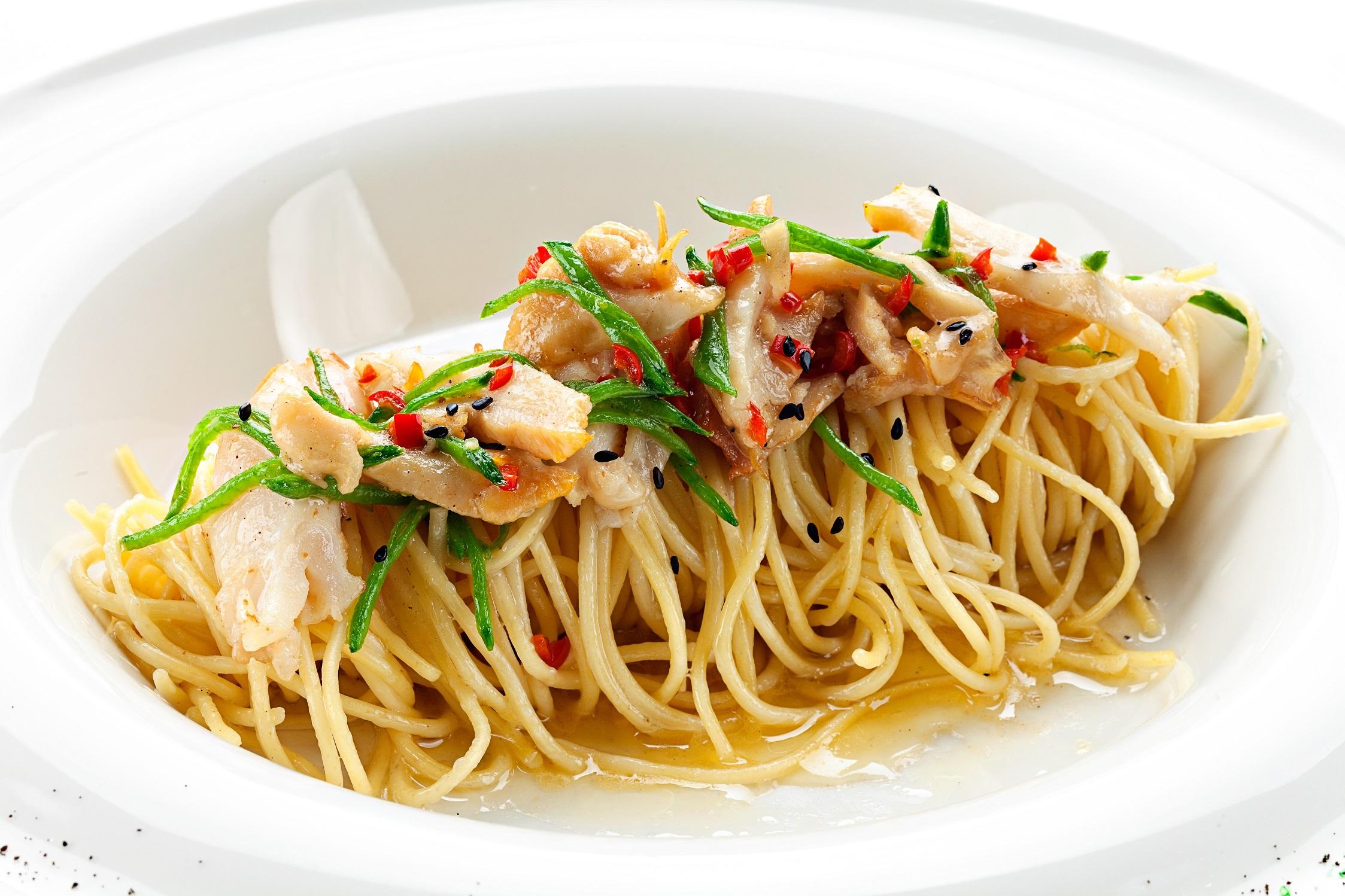 Ресторан Мумий Тролль Music Bar - Спагетти с трубачом в легком соусе