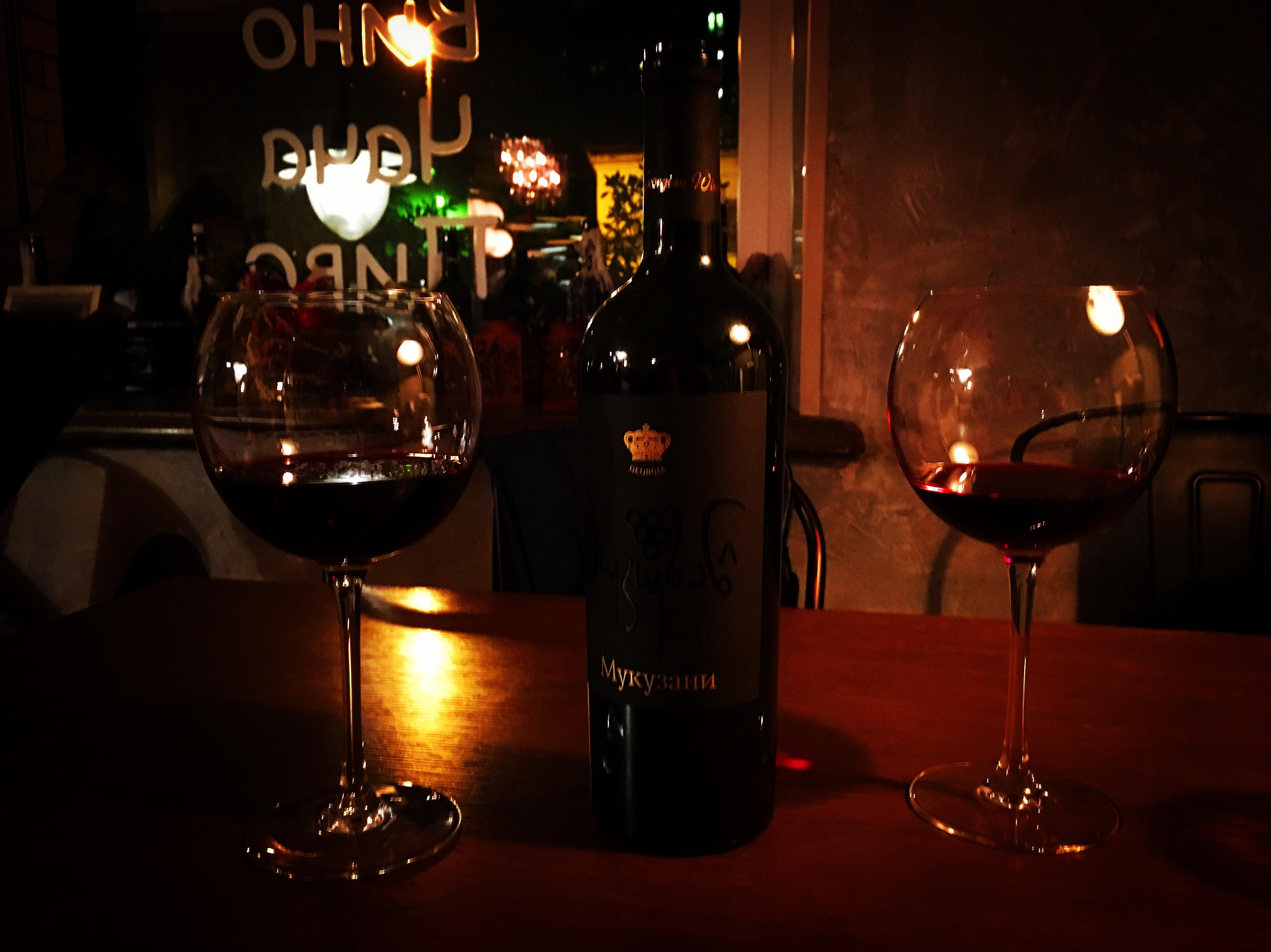 Есть хинкали & Пить вино
