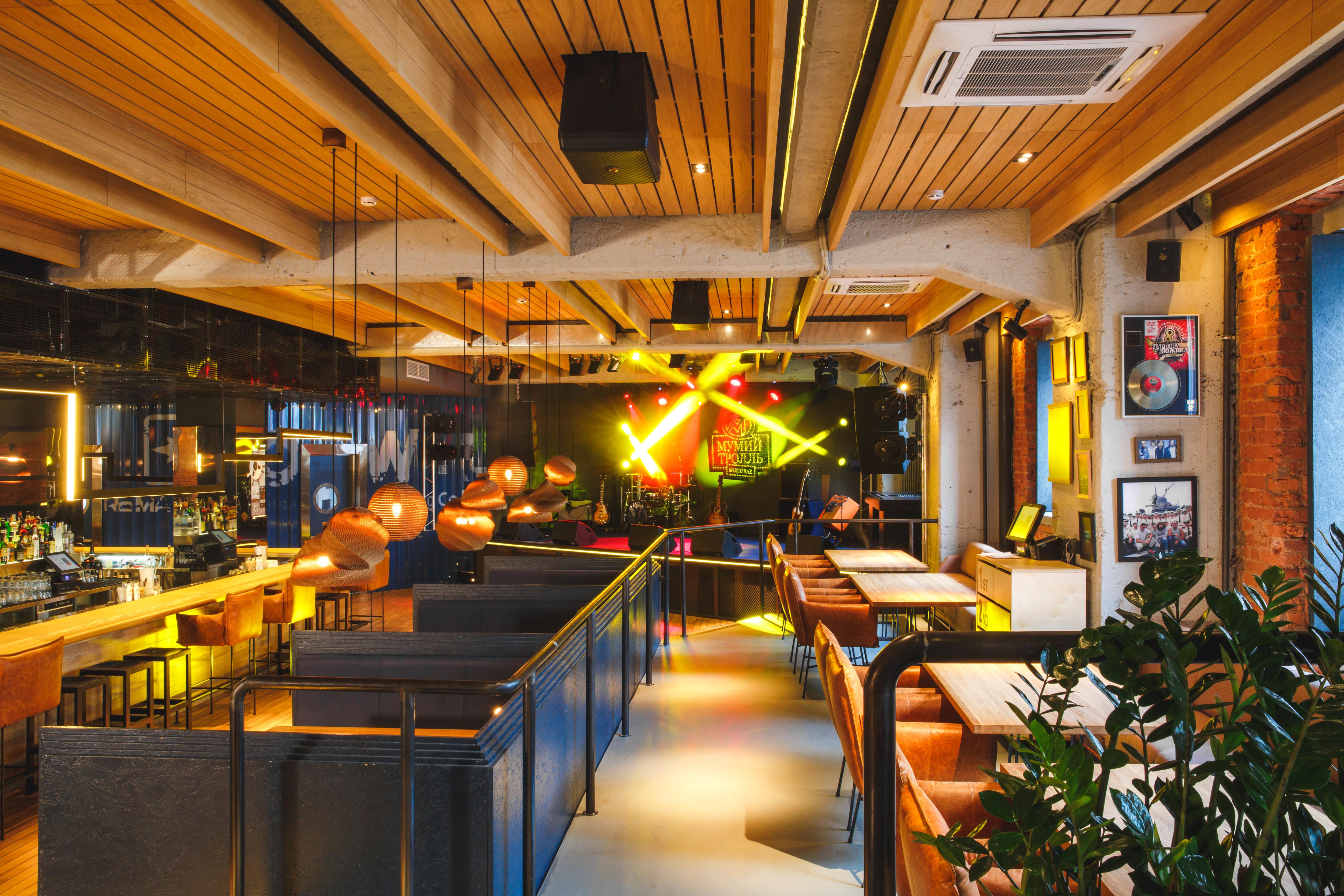 Ресторан Мумий Тролль Music Bar